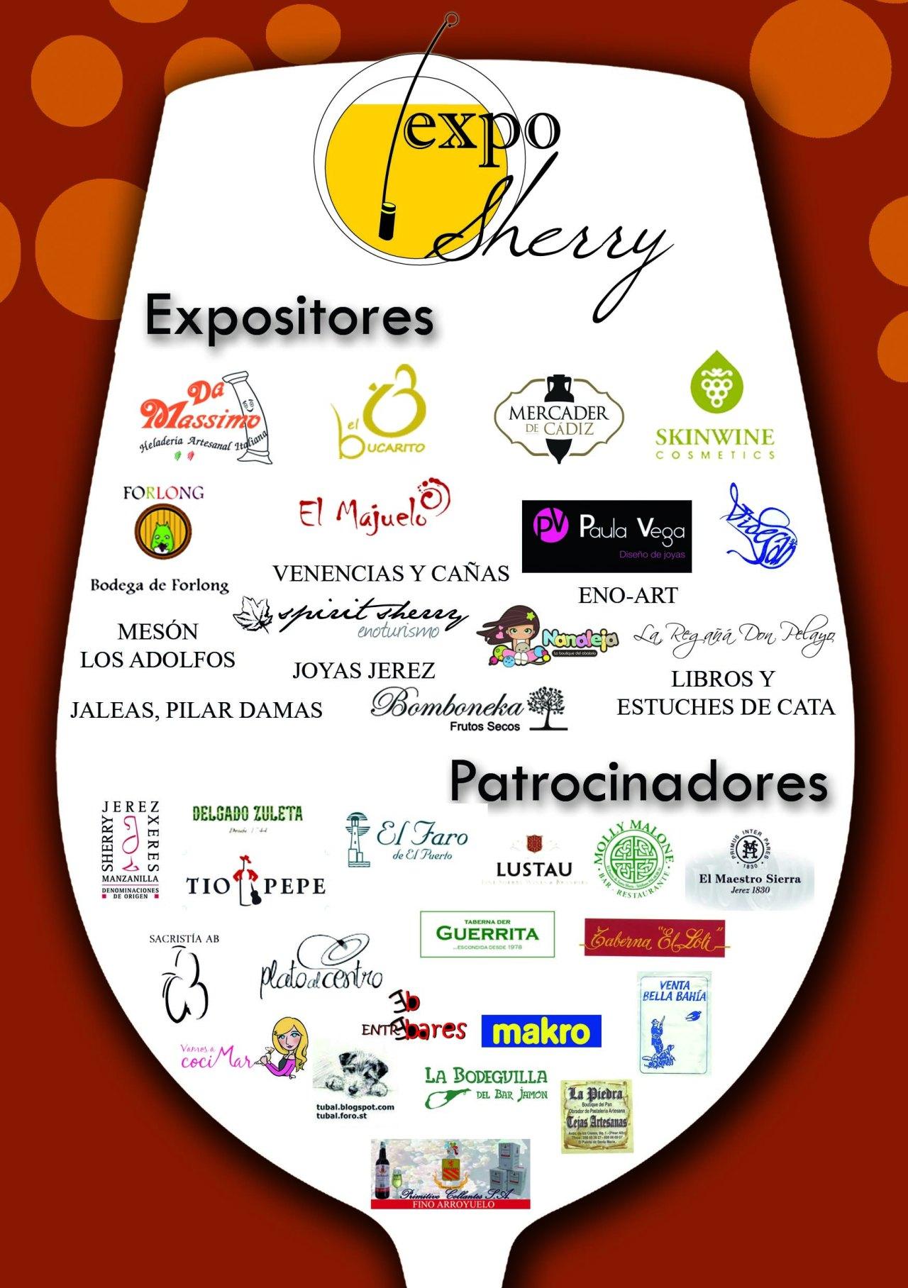 Flyer Expositores y patrocinadores