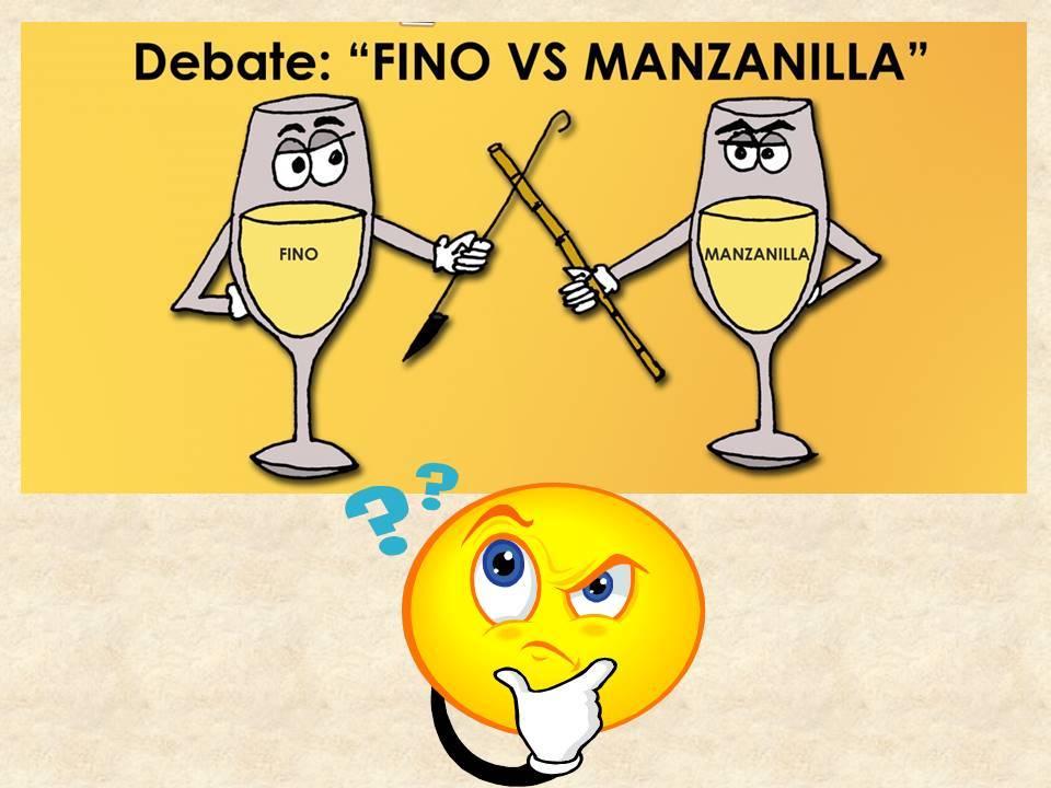 Fino vs Manzanilla 1