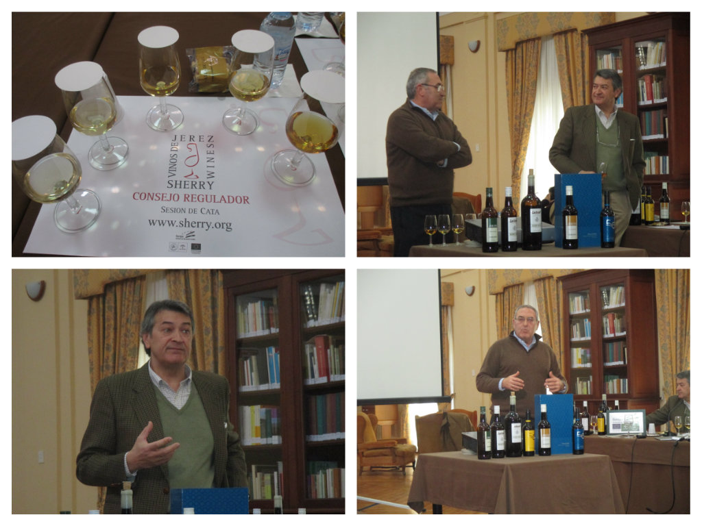 1ª Cata de 2015 del Consejo Regulador dedicada al 50 cumpleaños de la Manzanilla.  1st Sherry Wine tasting by the Regulatory Council dedicated to the 50th Birthday of the Manzanilla Sherry Wine.
