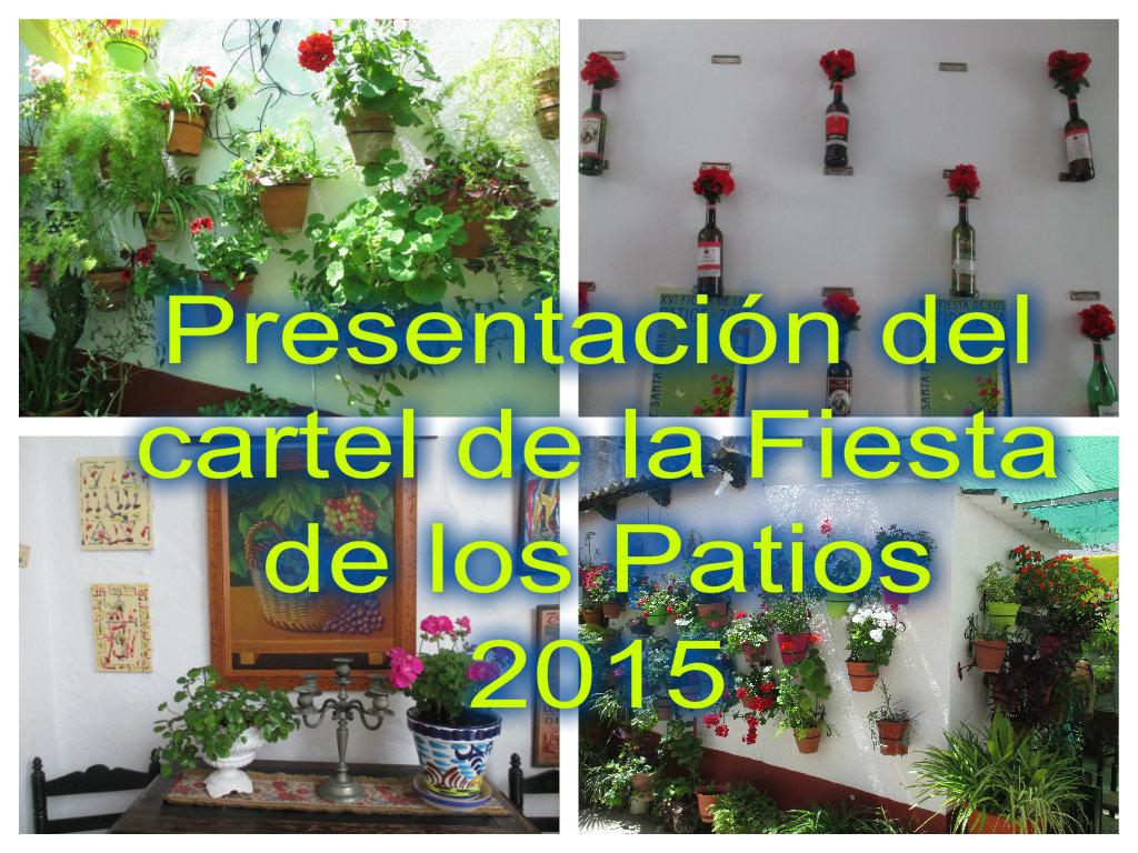 Presentación cartel 2015