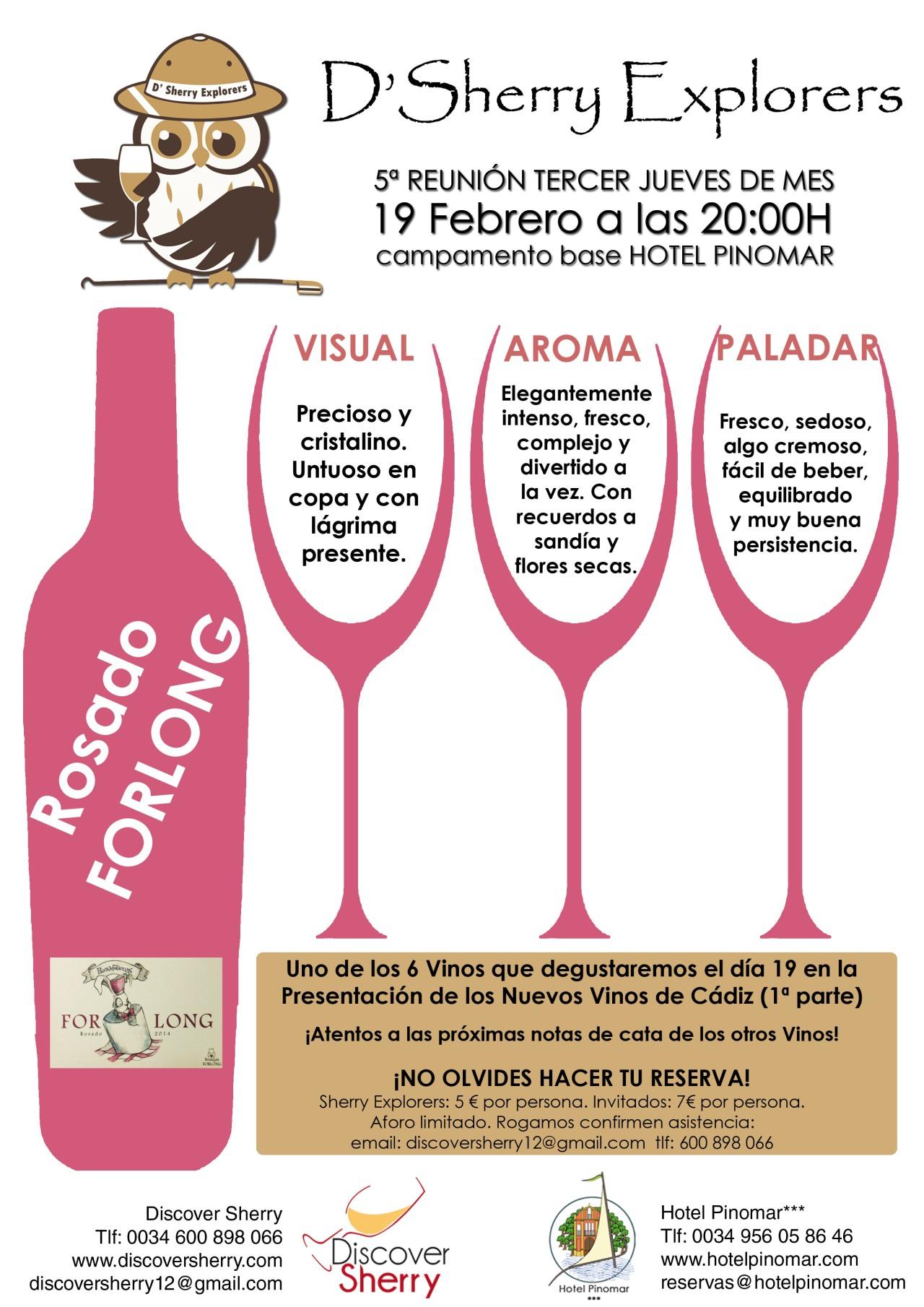Los nuevos vinos de Cádiz: RosadoForlong