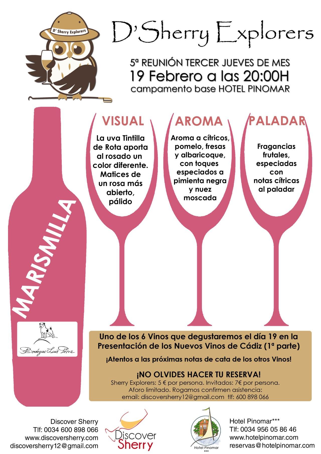 Marismilla, nuevo rosado de Luis Pérez, en el IIIJueves