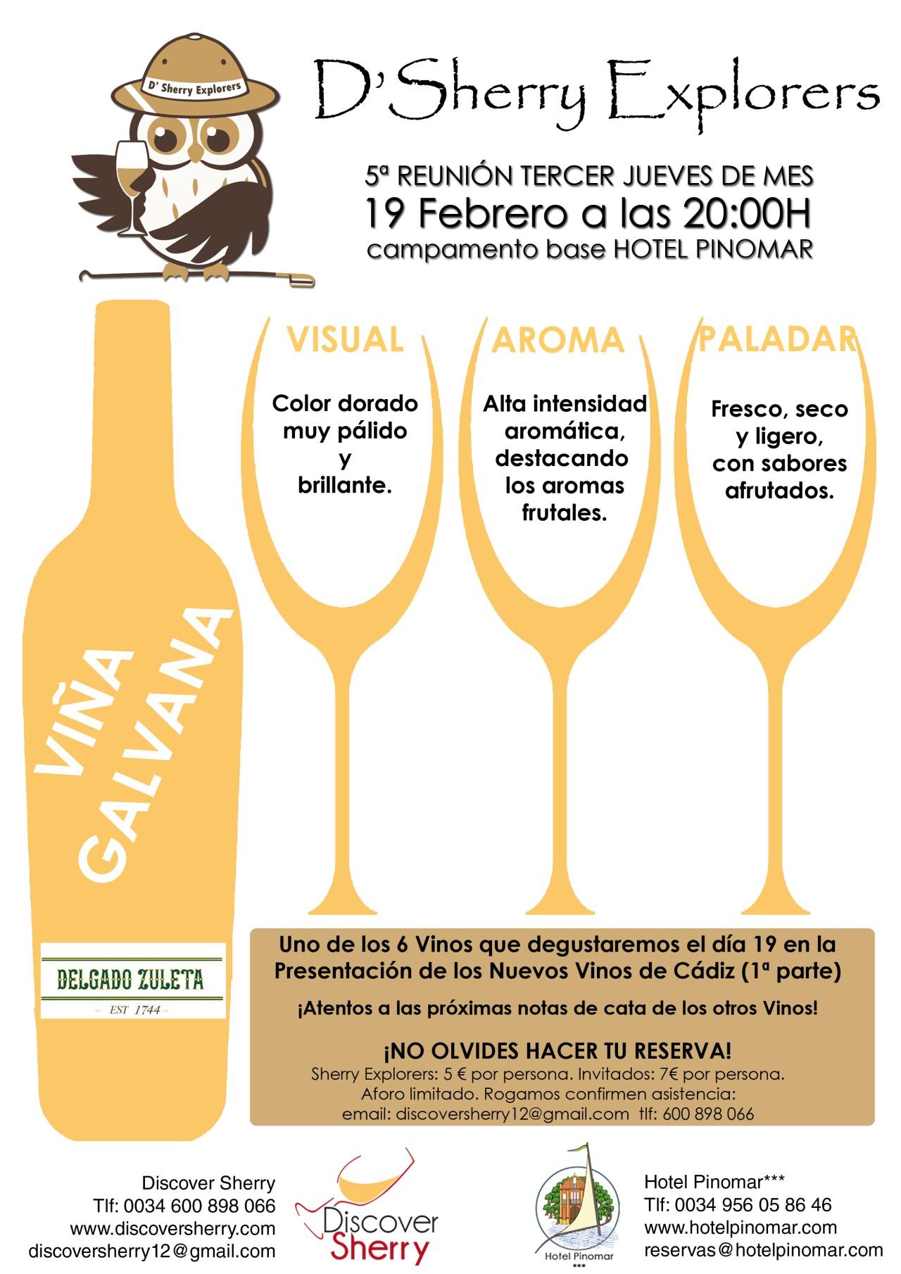 Los nuevos vinos de Cádiz: ViñaGalvana