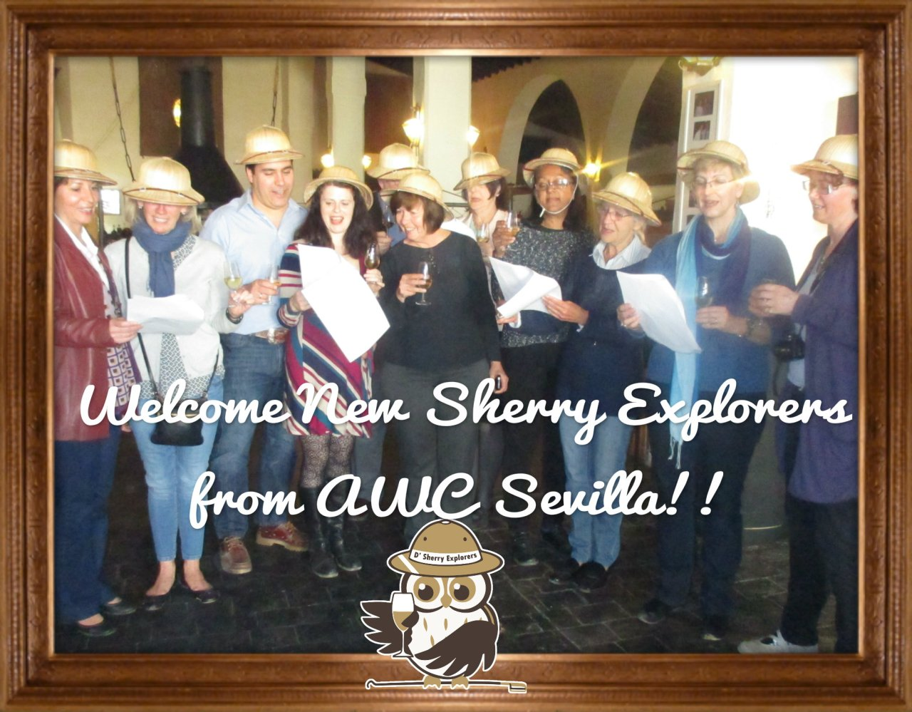 ¡11 Nuevos Sherry Explorers del AWC de Sevilla!  11 New Sherry Explorers from AWC Seville!