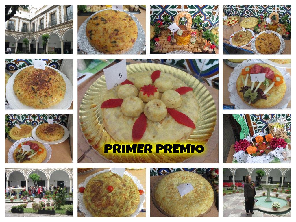 Concurso de Tortillas.  Spanish Tortilla (Potato Omelette)Contest.