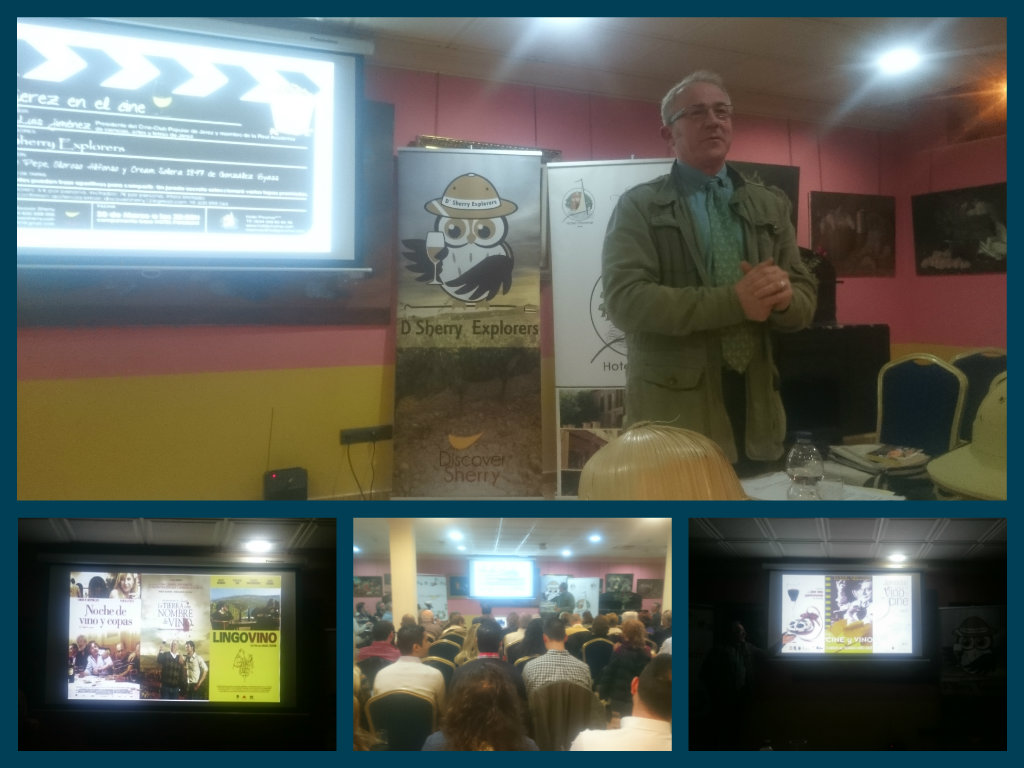 """El jerez en el cine"" en la reunión de D´Sherry Explorers/""Sherry in the Movies"" with the D'Sherry Explorers"
