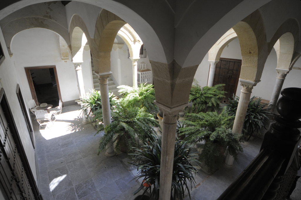 Patio de una compatriota