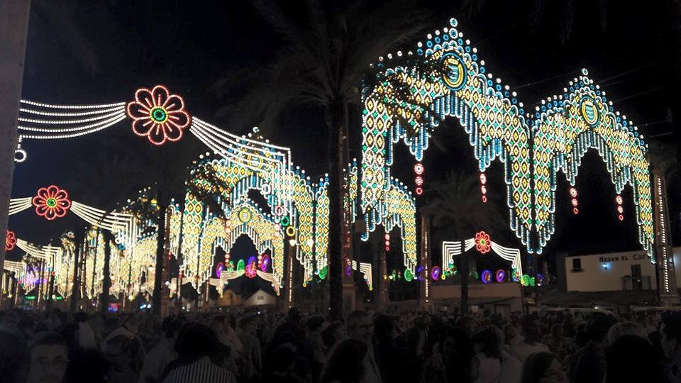 ¡Empieza la Feria de Jerez! The Feria has started in Jerez!