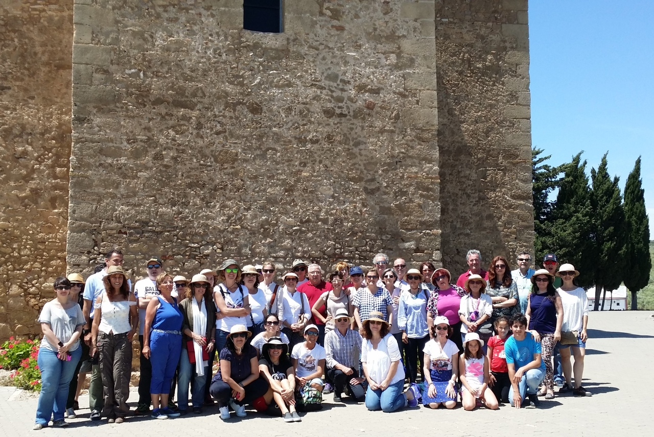 D´Sherry Explorers en el Yacimiento Doña Blanca /  D´Sherry Explorers at the Doña Blanca Archaeologicalsite