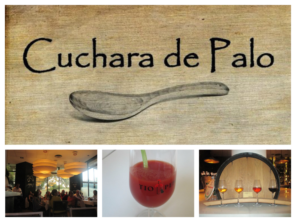 Collage cuchara de palo