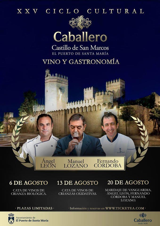 XXV Ciclo Cultural Caballero, Vino yGastronomía