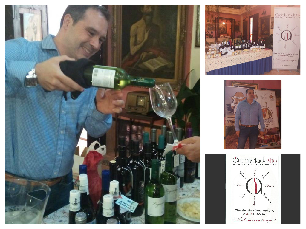 Collage Andalucía de Vinos