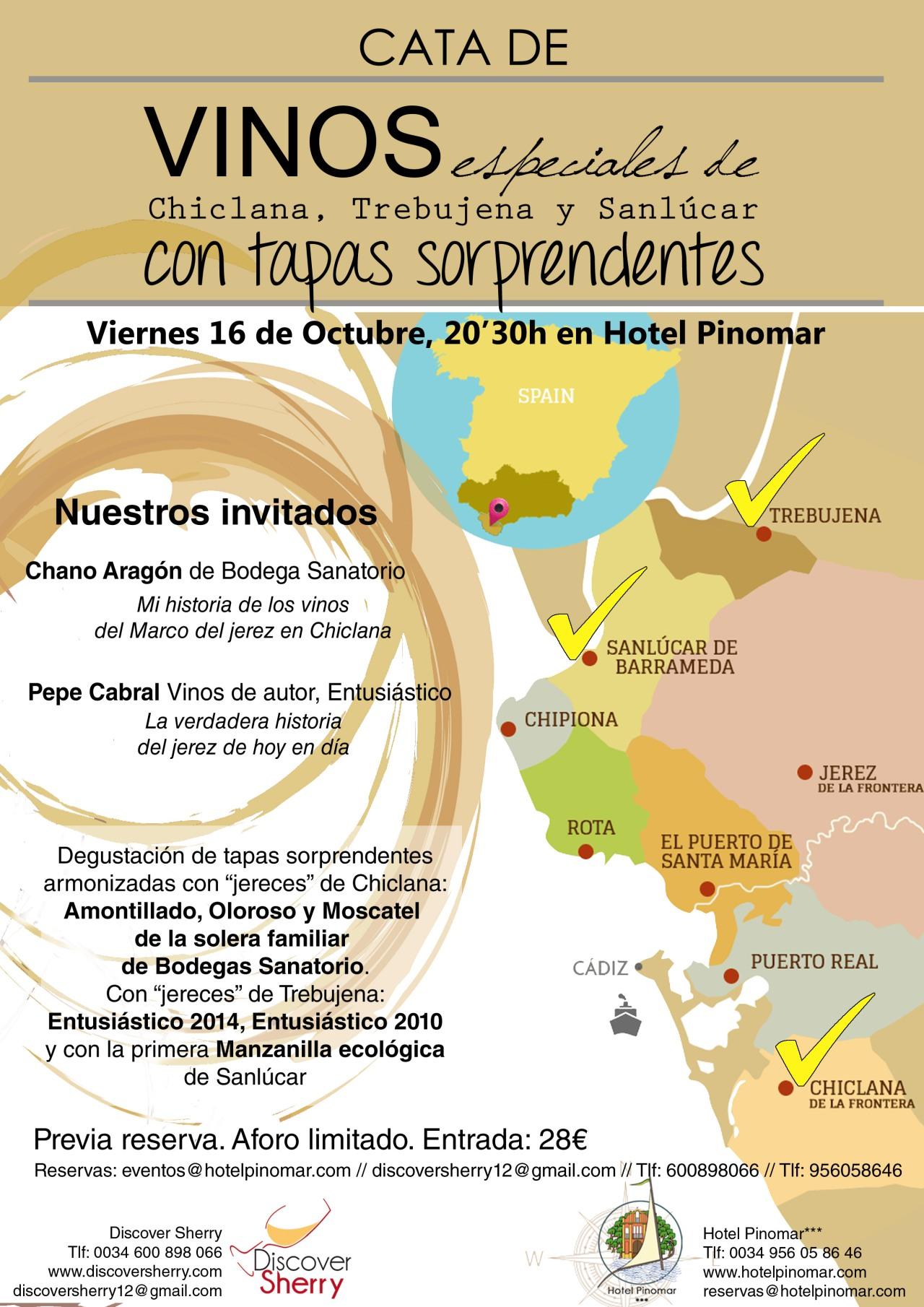 Cata de vinos especiales con tapas sorprendentes.  Tasting of special wines and pairing with surprisingtapas.