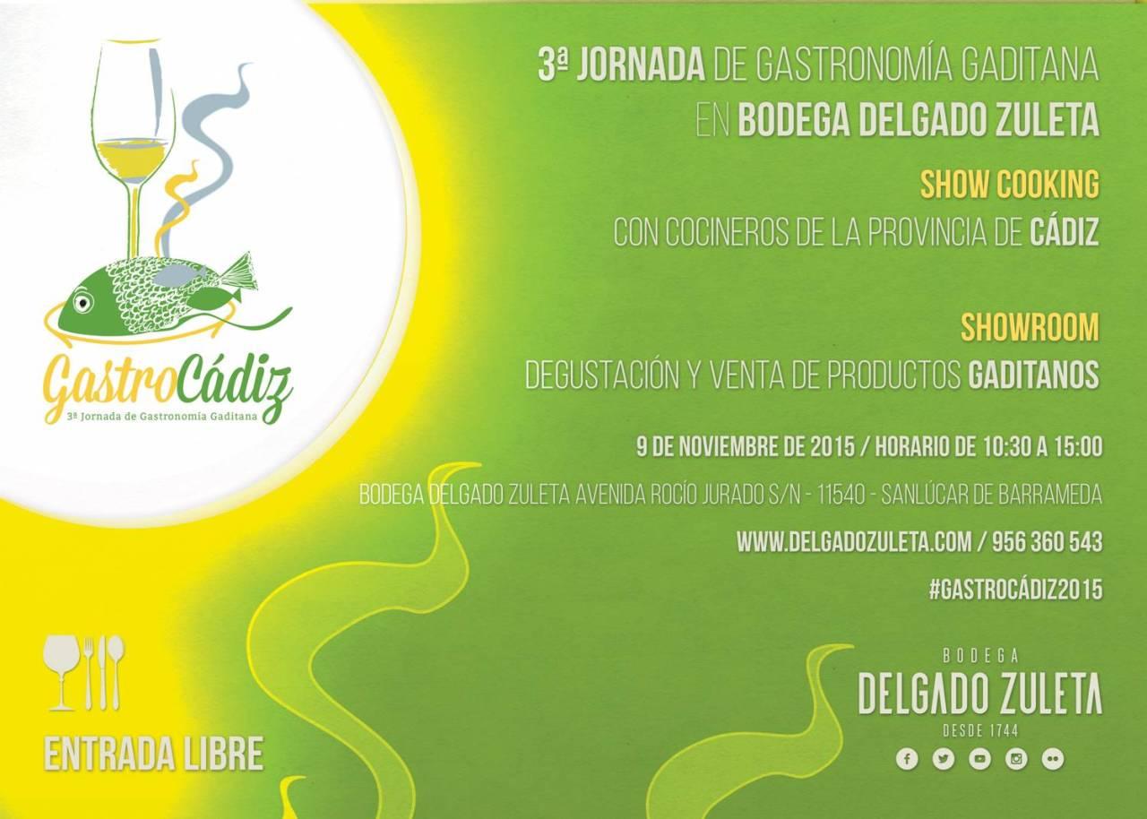 Discover Sherry Recommends: GASTROCADIZ en Bodega DelgadoZuleta