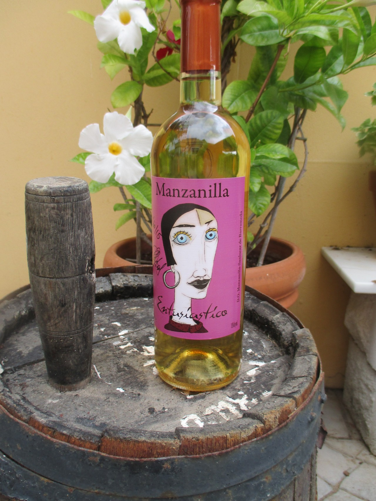ENTUSIÁSTICA, la primera Manzanilla ecológica.  ENTUSIÁTICA, the first organic ManzanillaSherry.