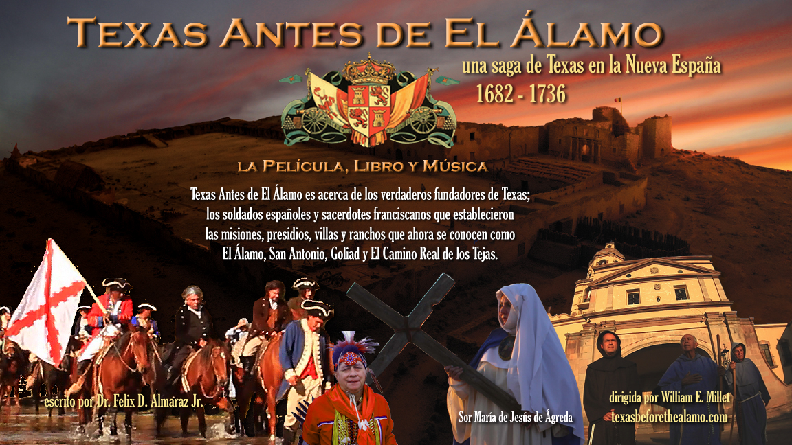 Texas Antes de El Alamo - cartel copy