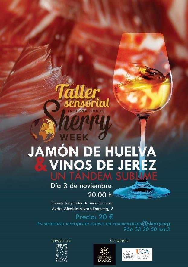 Discover Sherry recommends: Jamón de Huelva y Vinos deJerez