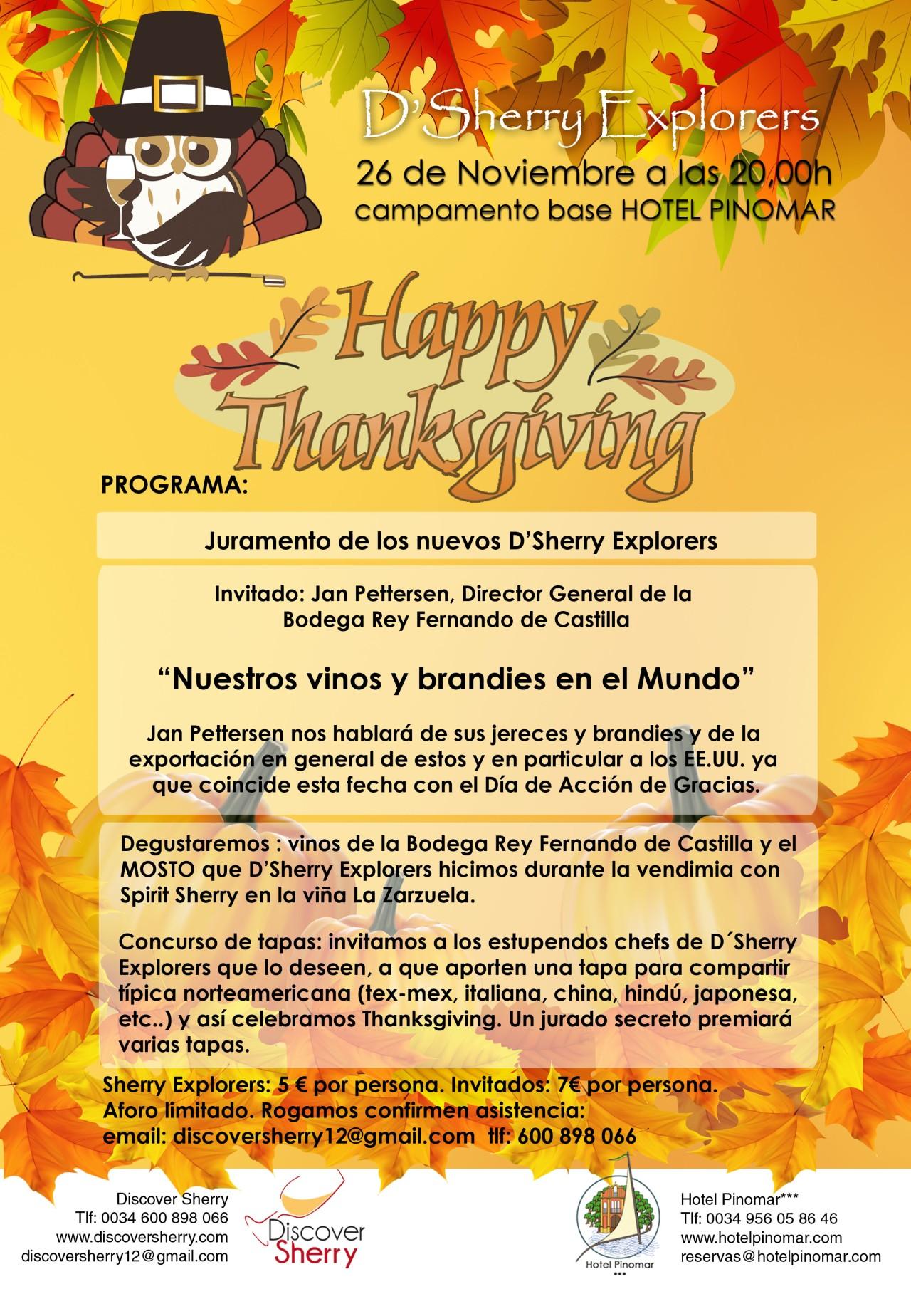 D´Sherry Explorers meeting, on Thanksgiving.  D´Sherry Explorers se reunen el día de Acción deGracias.