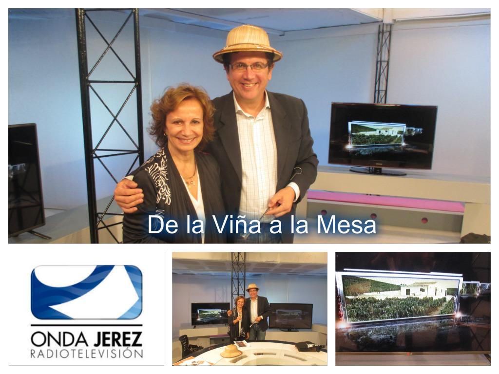 """Antonio Moure nos entrevista en """"De la Viña a la Mesa"""" /Antonio Moure interviews us on """"De la Viña a laMesa"""""""