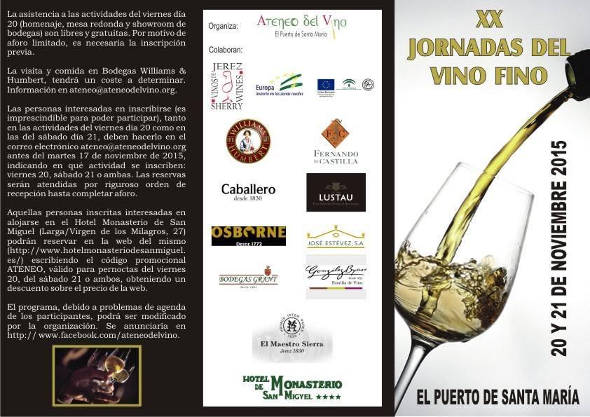 Jornadas Vino Fino 2015 a