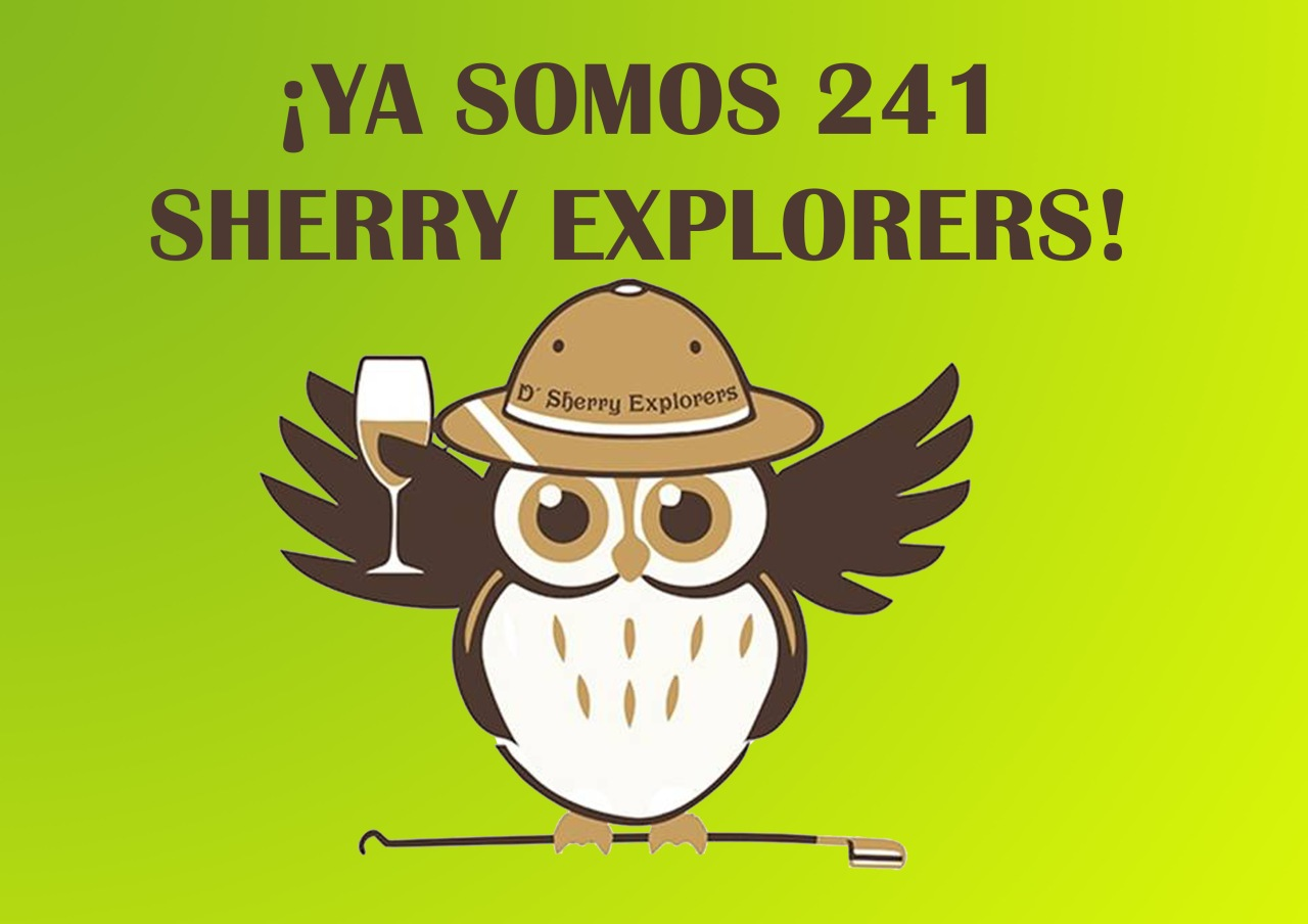 ¡¡¡241 Sherry Explorers!!!