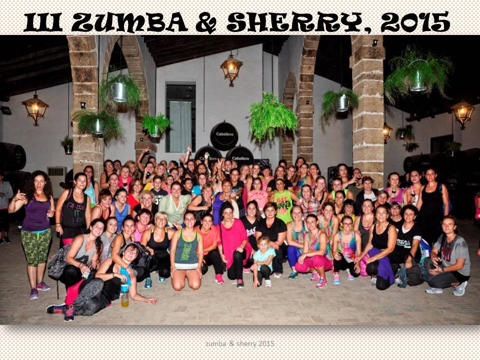 International Sherry Week´s III ZUMBA and SHERRY