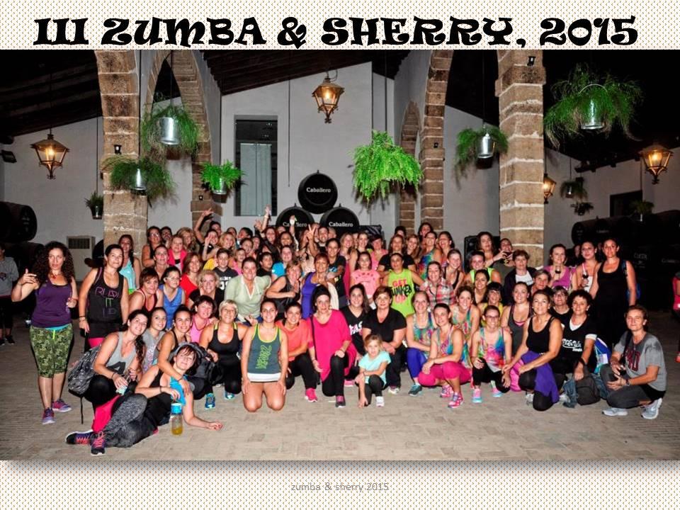 International Sherry Week´s III ZUMBA andSHERRY