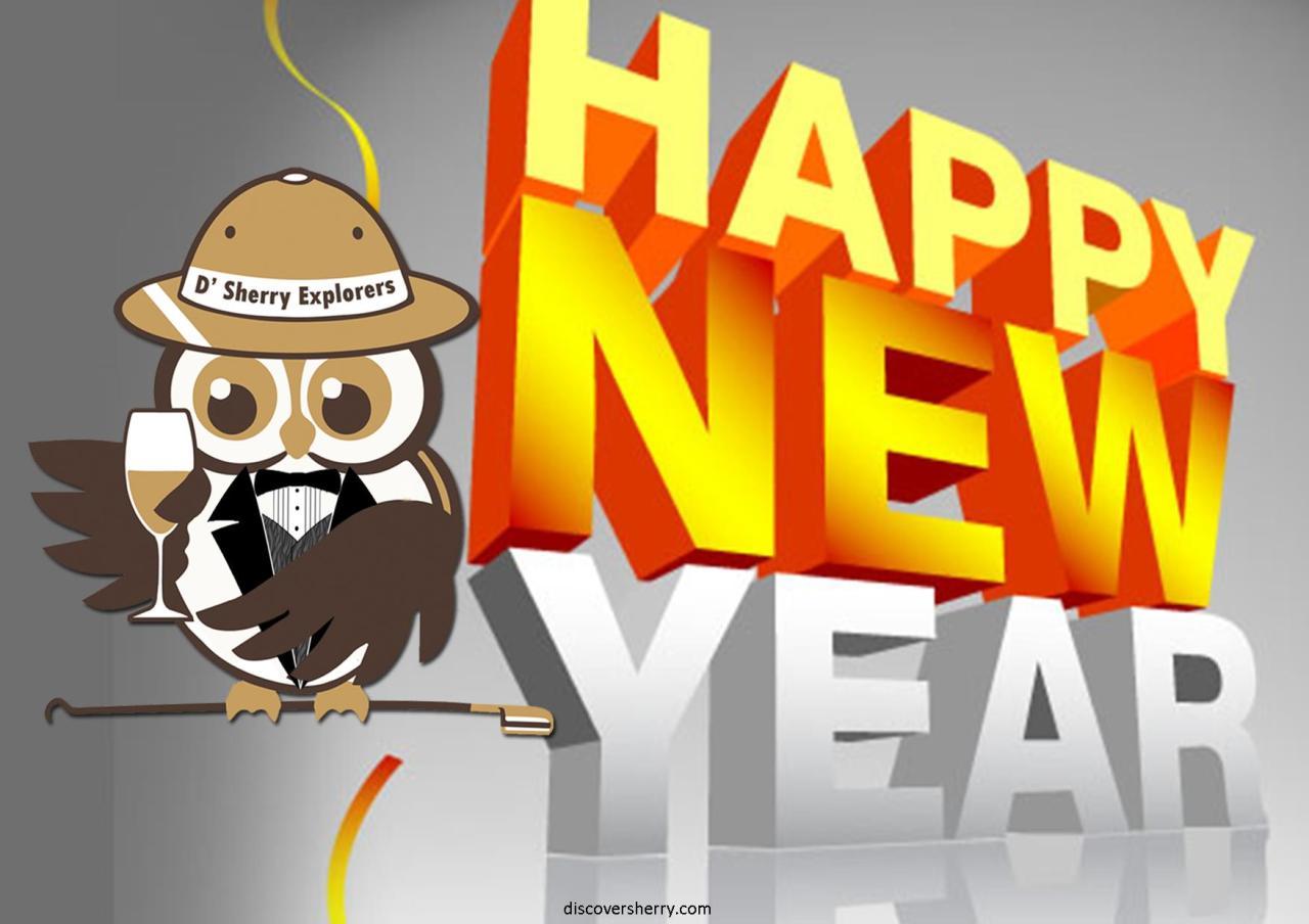 Happy New Year!!  ¡¡Feliz AñoNuevo!!