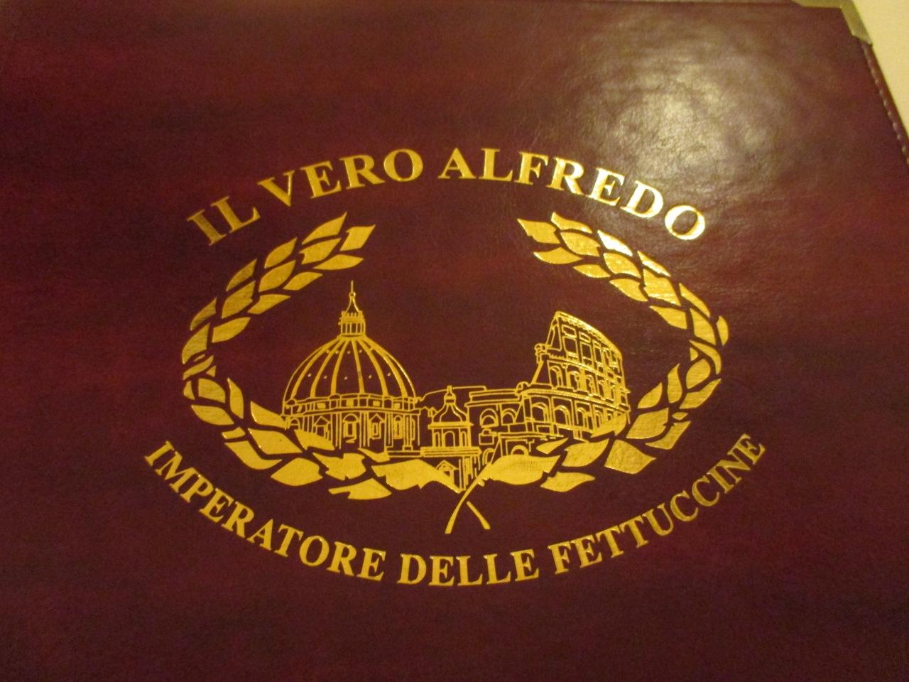 Il Vero Alfredo all Augusteo, emperador del Fettuccine. Il Vero Alfredo all Augusteo, the Emperor ofFettuccine.