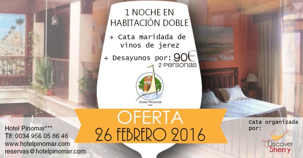 oferta alojamiento cata febrero 2016