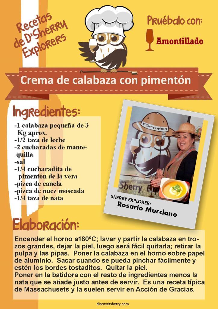 Sopa de calabaza español