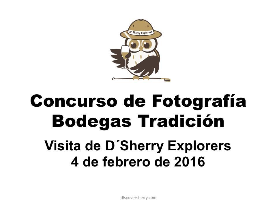 Fotos del concurso de fotografía de la visita a Bodegas Tradición.  Tradicion Winery Visit Photo ContestSubmissions