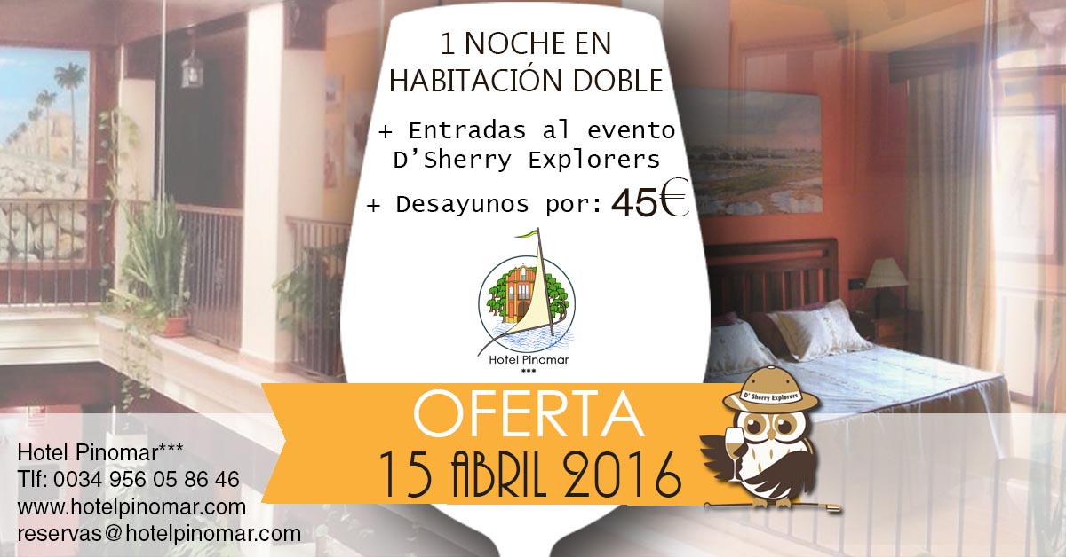 Oferta en nuestro campamento base: El Hotel Pinomar/ Special price at our Home Base: Hotel Pinomar