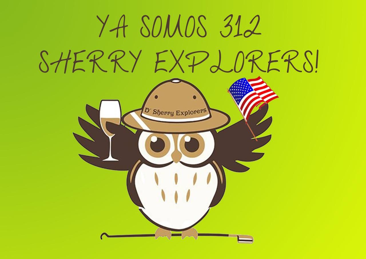 ¡312 Sherry Explorers!