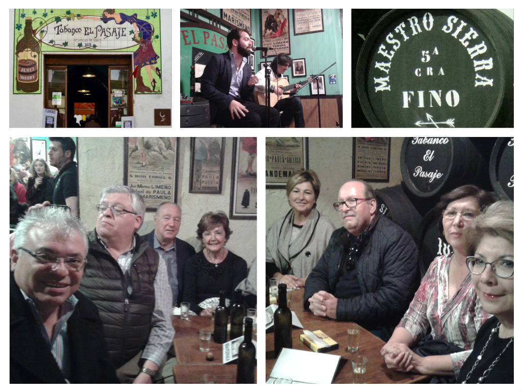 Discover Sherry con amigos de Texas y San Sebastian/Discovery Sherry with Friends from Texas and San Sebastian