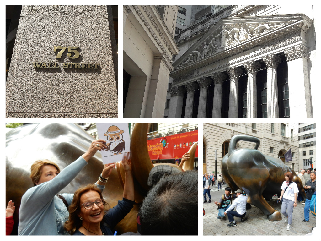 Collage Wall Street