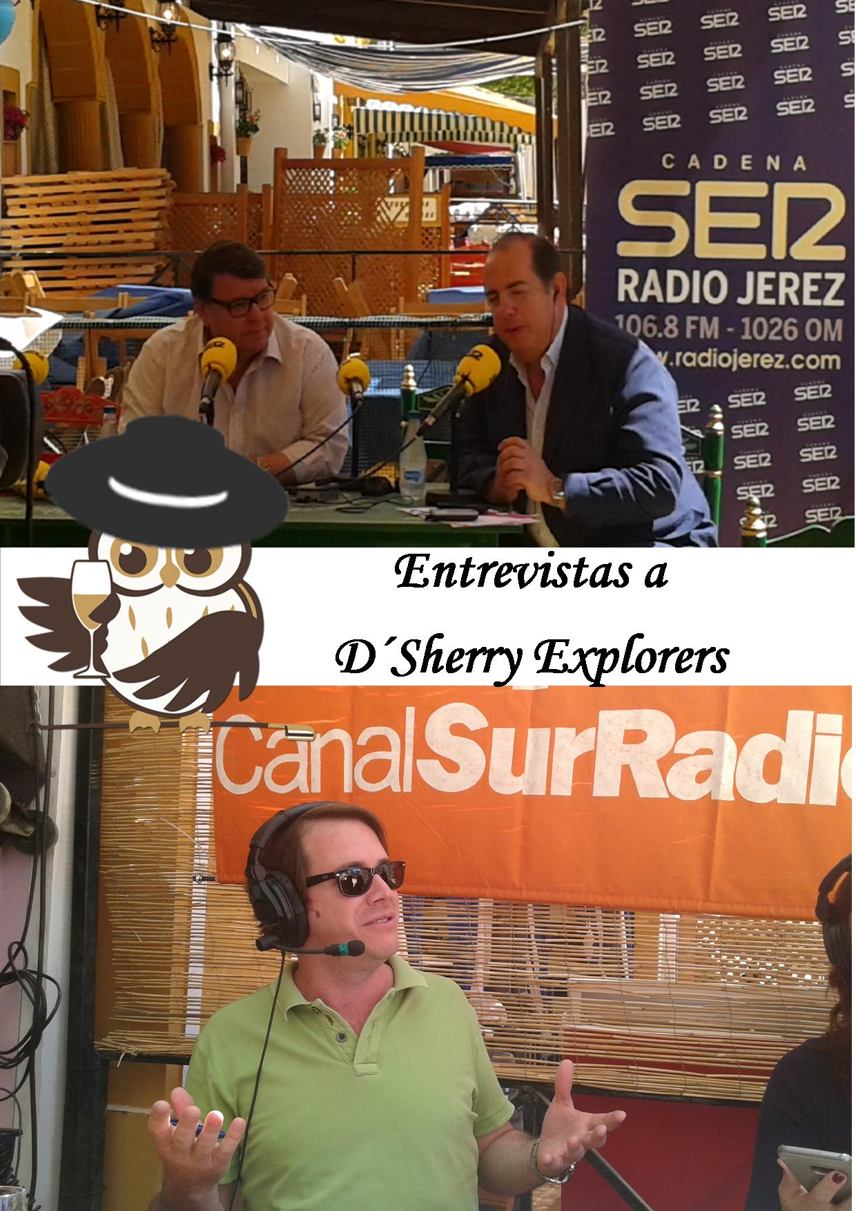 Entrevistas a Sherry Explorers en la Feria de Jerez/Sherry Explorer Interviews at the Jerez Fair