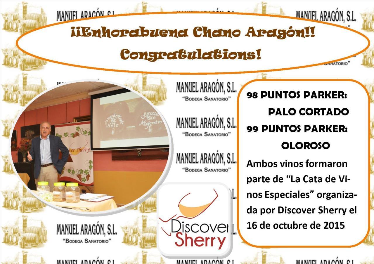 ¡¡Enhorabuena – Congratulations, ChanoAragón!!