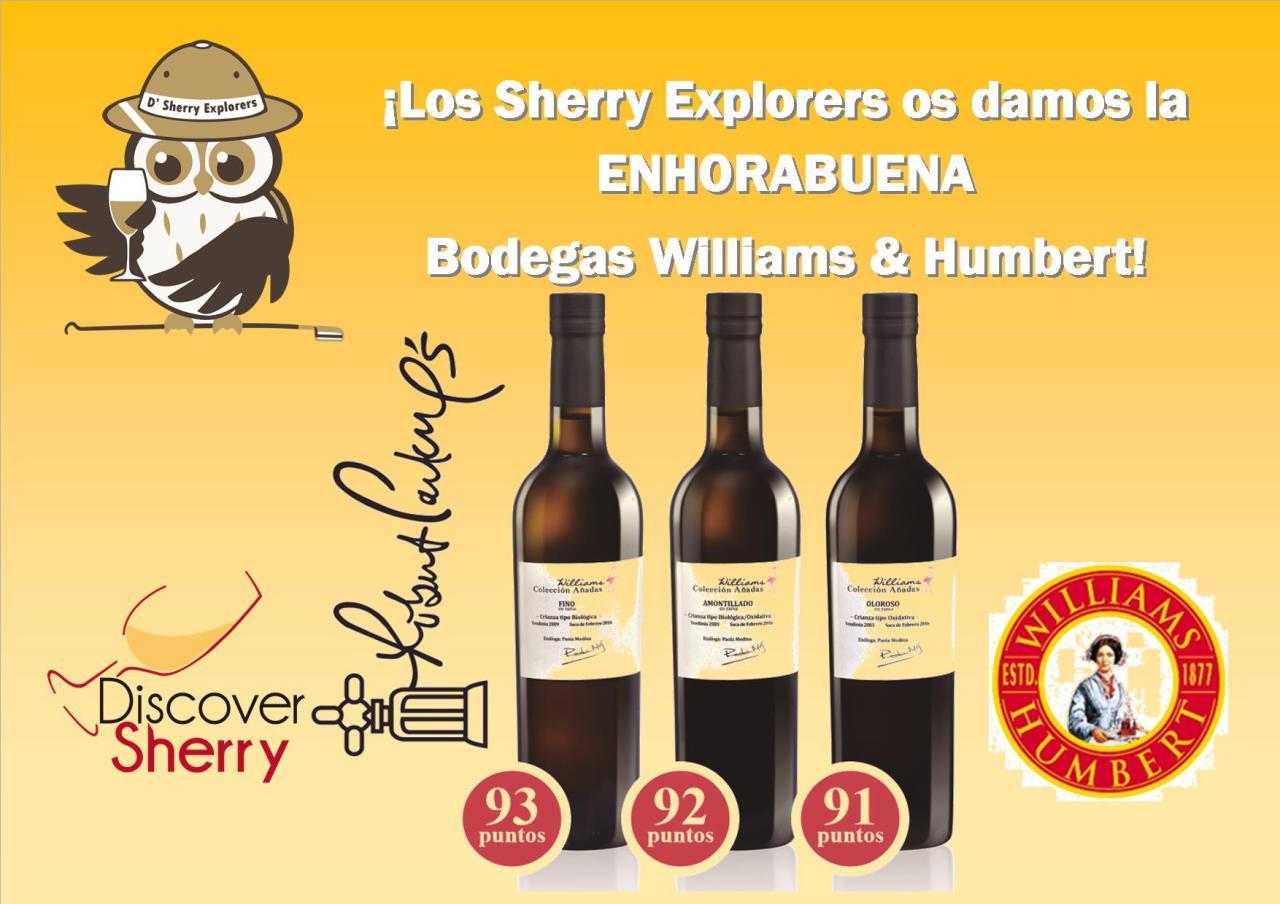 ¡Enhorabuena – Congratulations Bodegas Williams andHumbert.