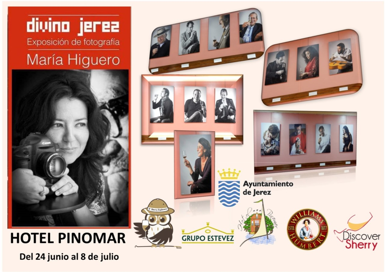 Exposición Divino Jerez en Hotel Pinomar hasta el 8 de julio. / Divino Jerez Photo Exhibit until July 8th at the Pinomar Hotel.