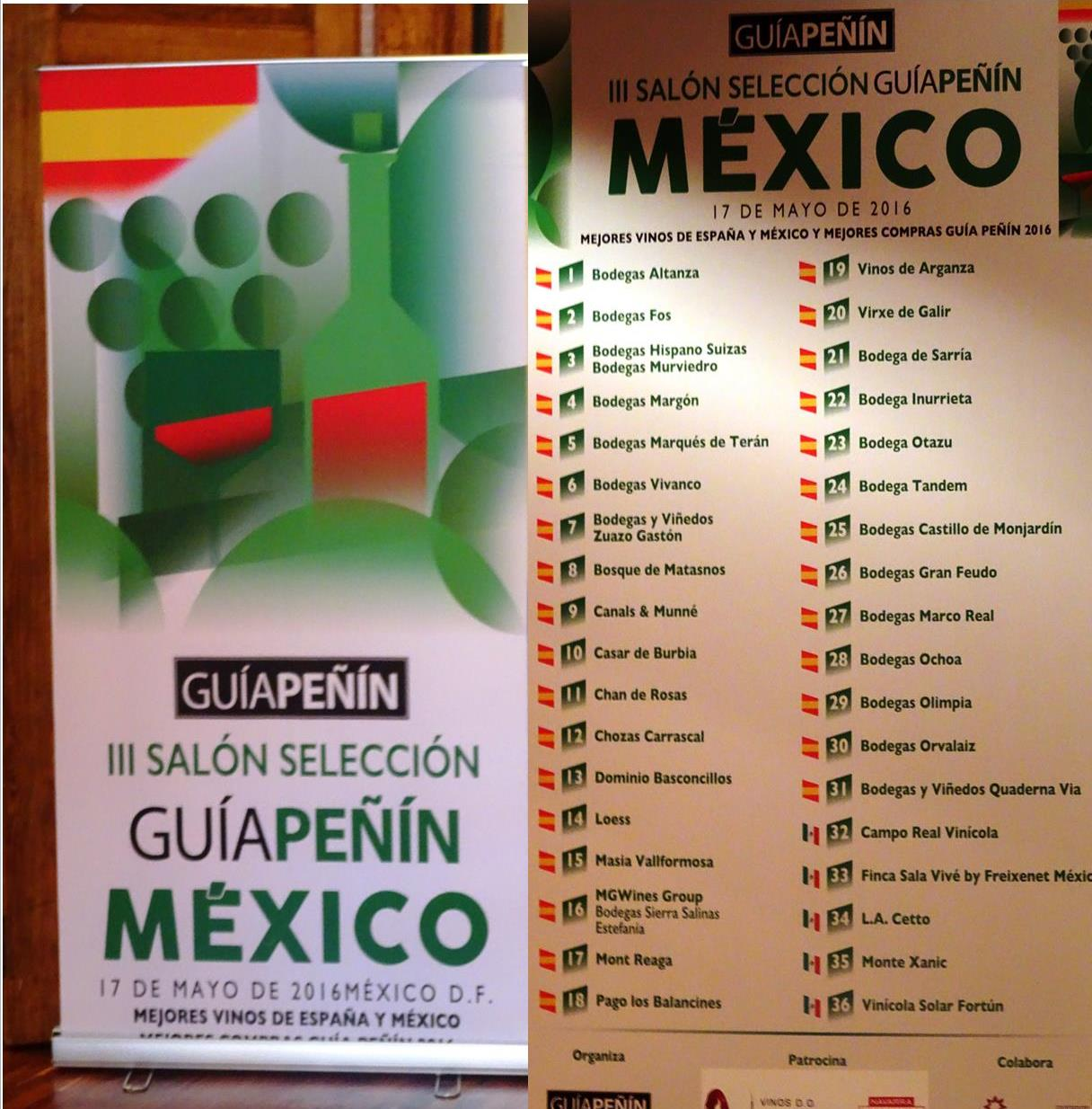 Guia Peñín 2016 visita México. / 2016 Peñín Wine-Selection Guide visits México.(M.A.Gallardo)