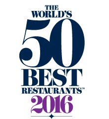 Los 50 Mejores Restaurantes del Mundo 2016. / The World´s 50 Best Restaurants 2016