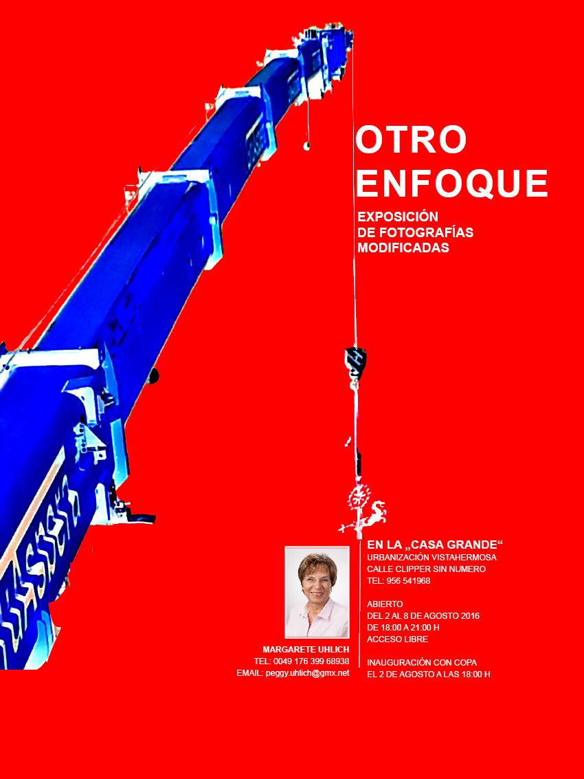 """Discover Sherry recommends: Invitación a la exposición fotográfica de Margarete Uhlich """"Otro Enfoque""""/  Invitation to Margarete Uhlich´s Photo Exhibition: """"AnotherFocus"""""""