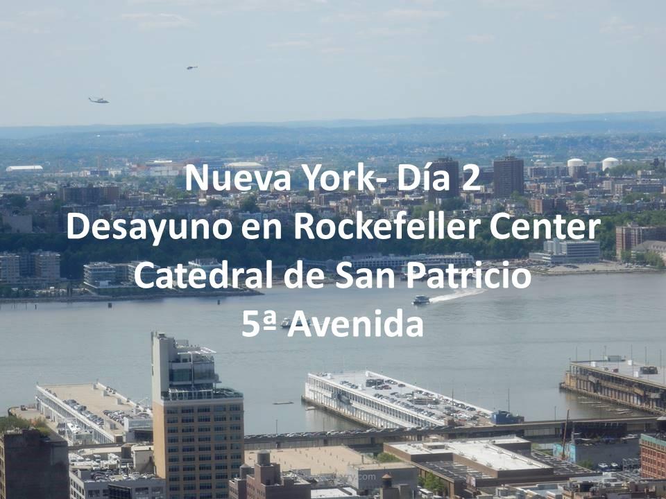 Video del día 2 de nuestro viaje a Nueva York. / Day Two Video of our Trip to NewYork