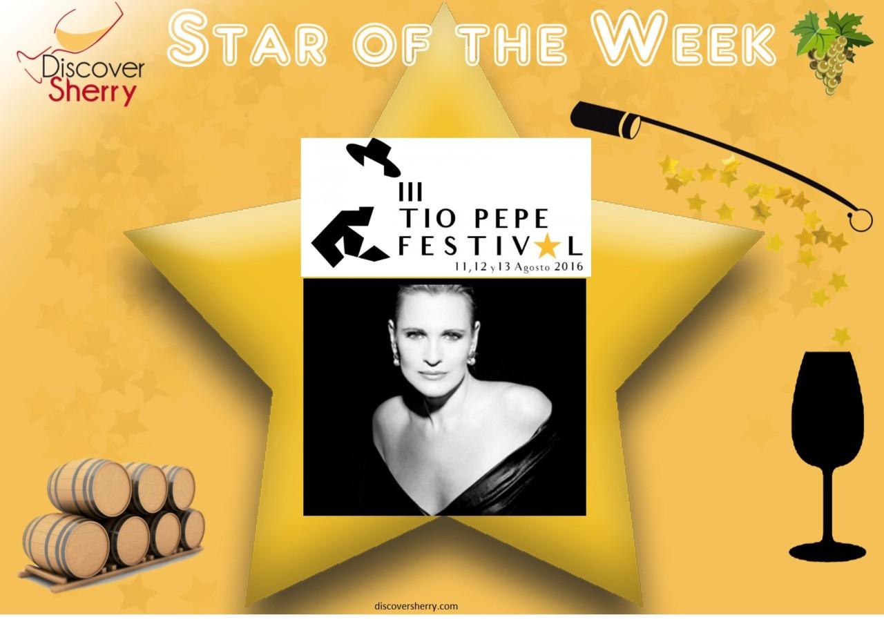 Discover Sherry STAR of the Week: Ainhoa Arteta at the Tío PepeFestival
