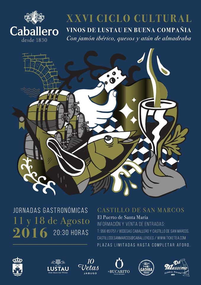 XXVI Ciclo Cultural Caballero at Castillo de San Marcos./ The Caballero Group presents its Gastronomic Evenings at the San Marcos Castle.