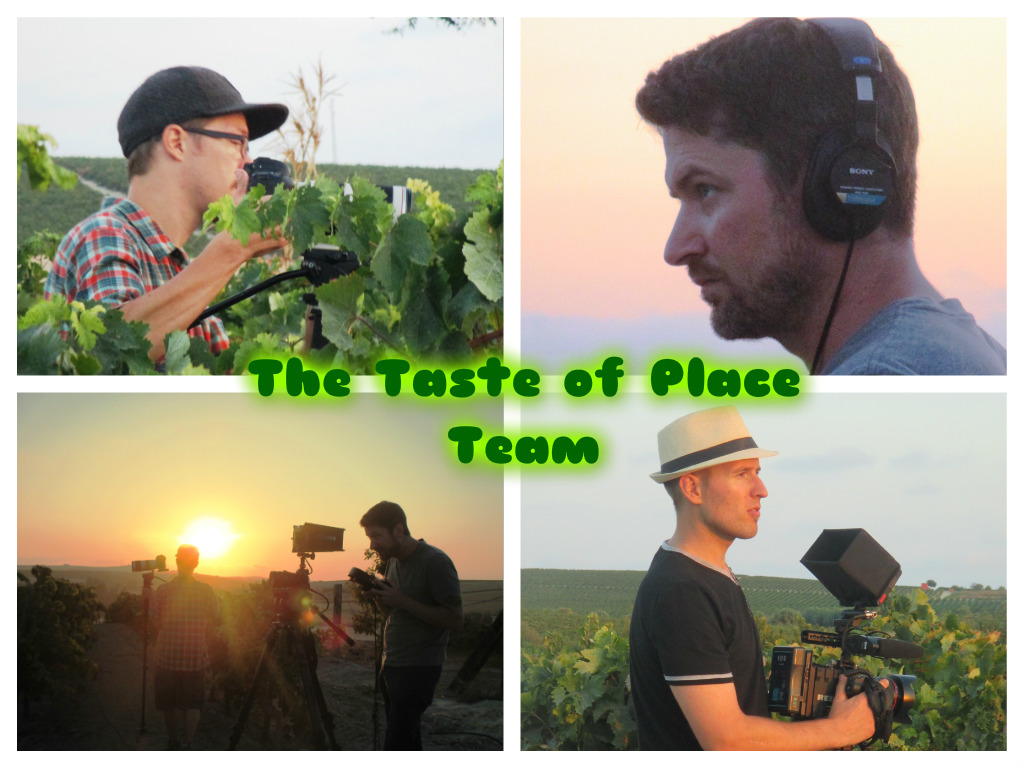 The Taste of PLace filma bodega, flamenco en la viña y puesta de sol / The Taste of Place films Winery, Flamenco in Vineyard and Sunset