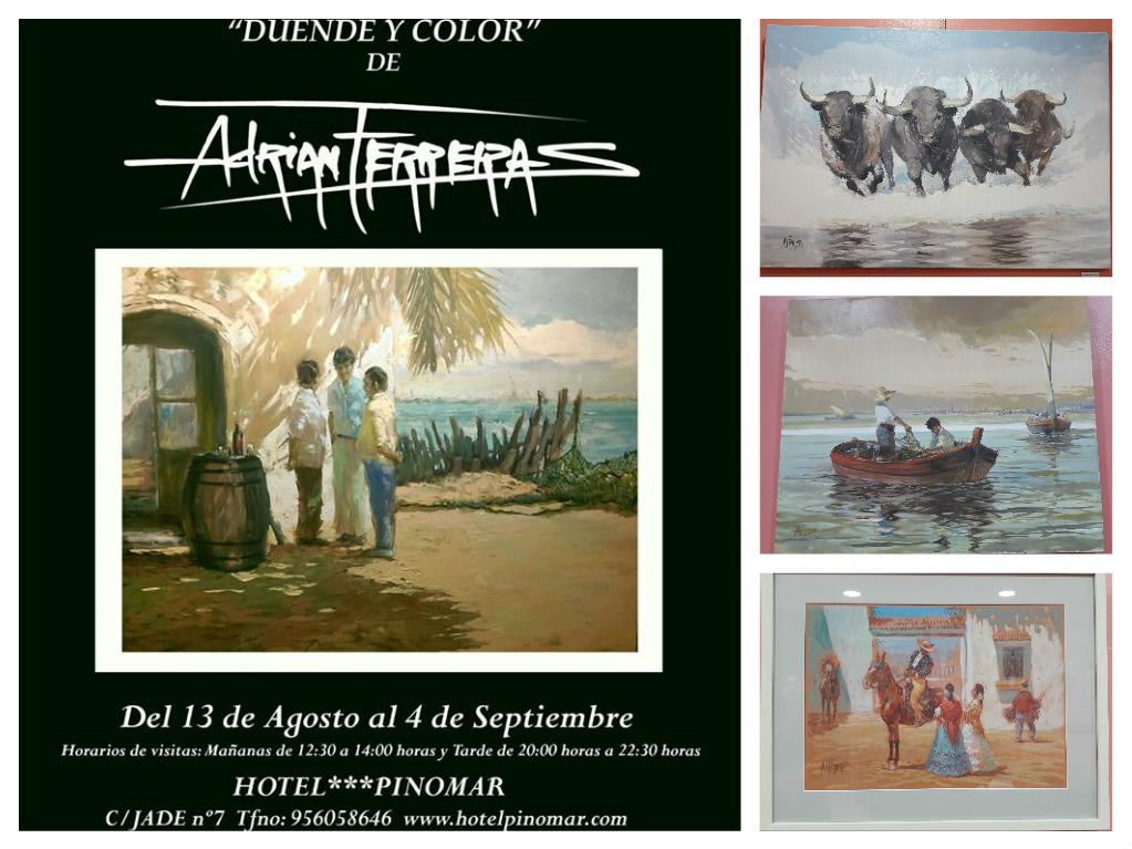 """Discover Sherry recommends:  Exposición """"Duende y Color"""" de AdrianFerreras"""