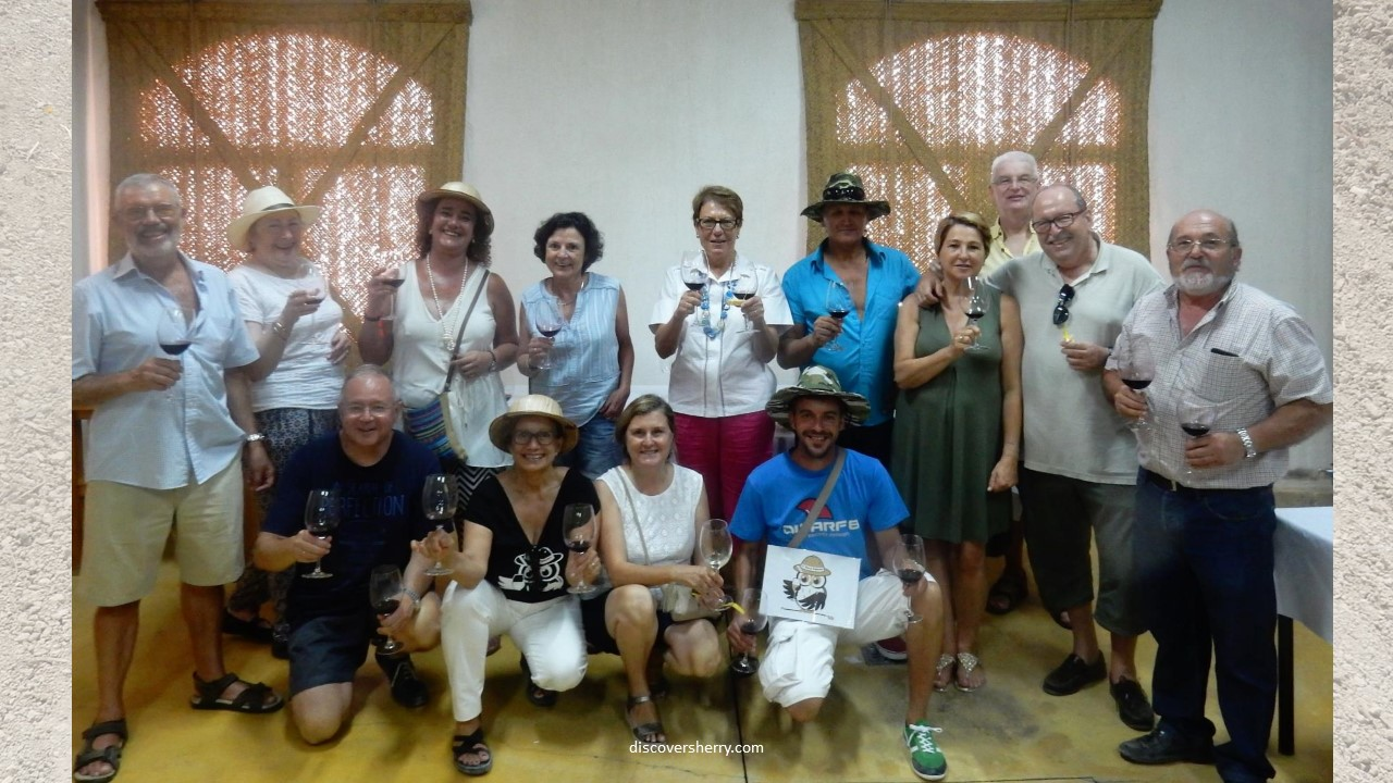 Sherry Explorers: Clase magistral en El Rancho de la Merced/Master Class at the Rancho de la Merced Center
