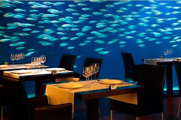 Más restaurantes extravagantes. / More ExtravagantRestaurants.